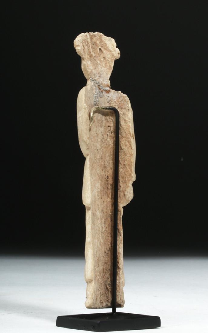 Romano-Egyptian Coptic Bone Idol - Standing Woman - 3