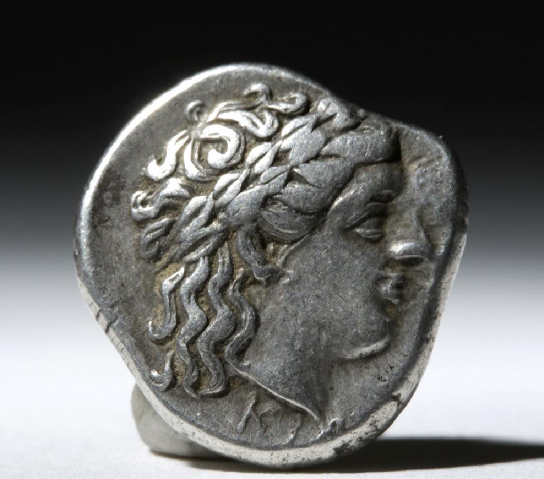 Greek Bithynia Kios AR Silver Hemistater Coin - 325 BCE - 2