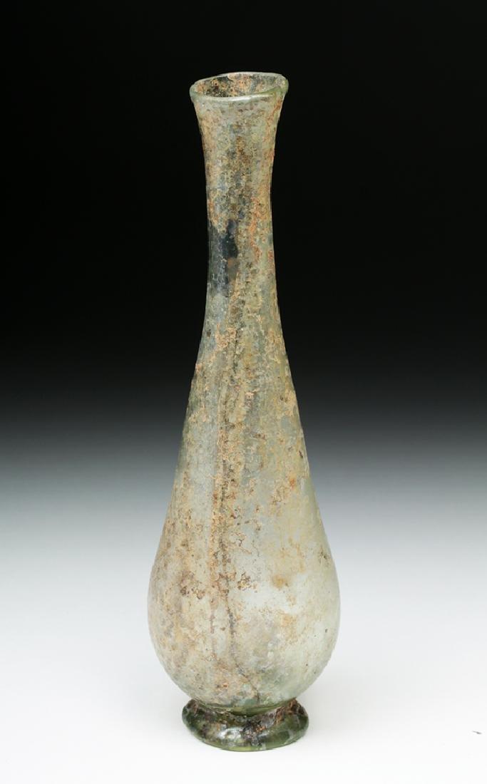 Lovely & Delicate Roman Glass Vase - 4