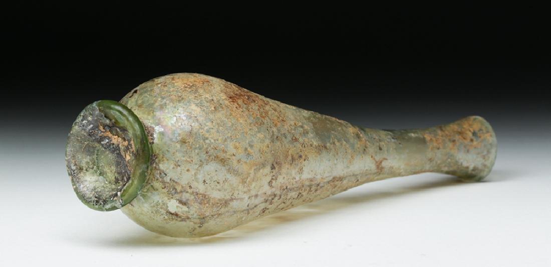 Lovely & Delicate Roman Glass Vase - 6