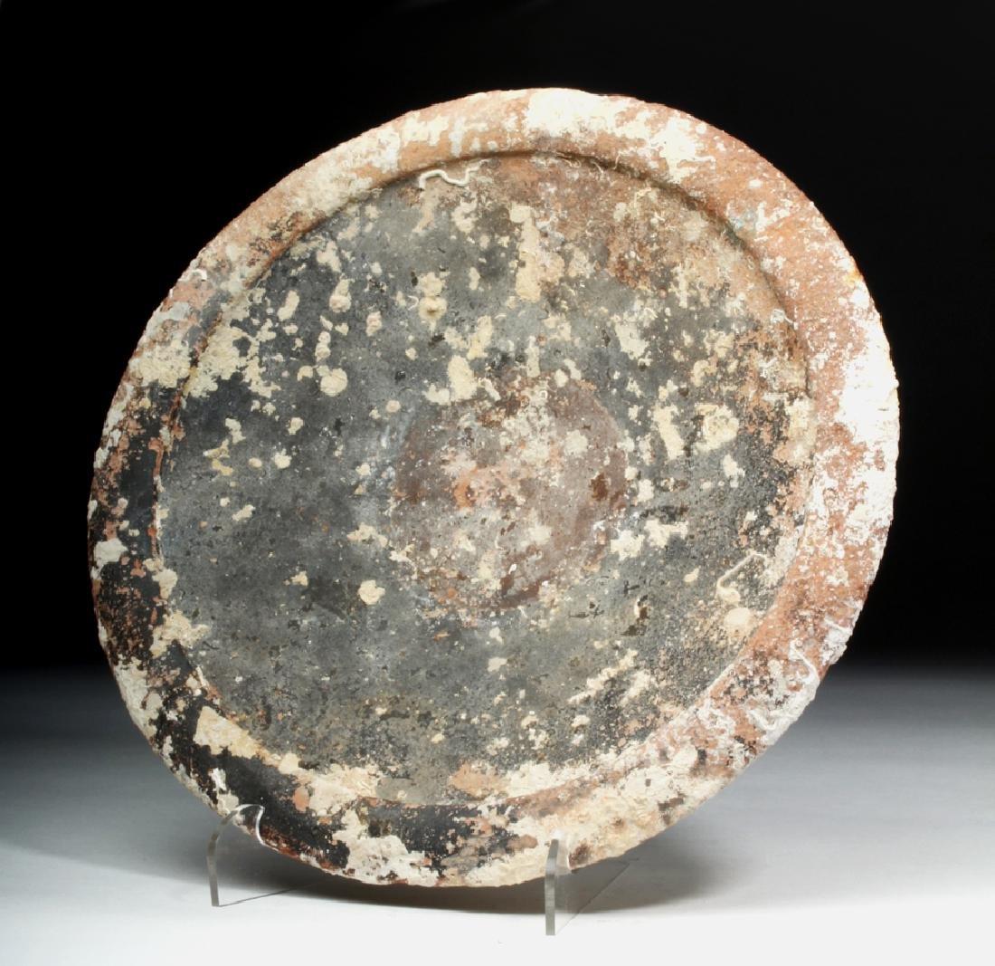 Roman Pottery Sea Salvage Plate