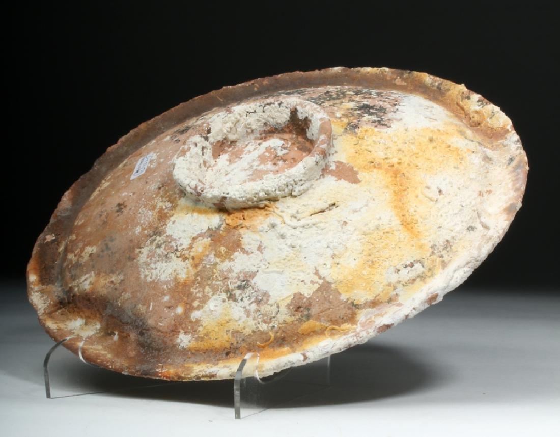 Roman Pottery Sea Salvage Plate - 2