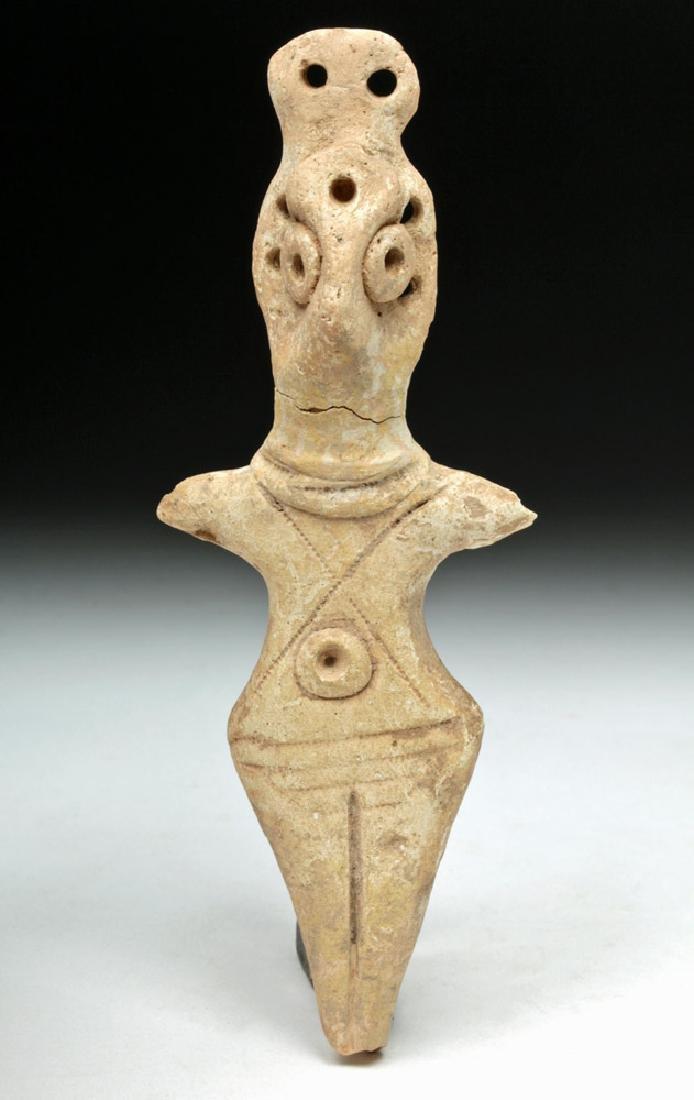 Syro-Hittite Terracotta Goddess Figure - Astarte