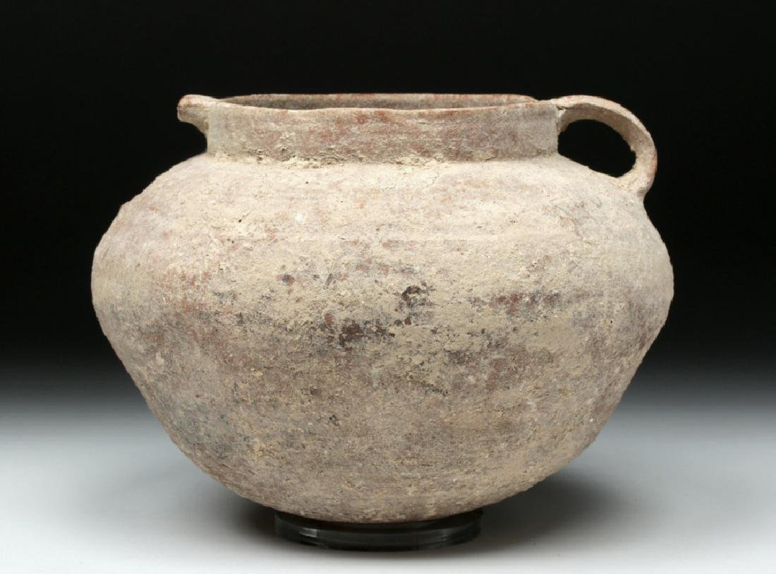 Holy Land Iron Age Pottery Pouring Vessel