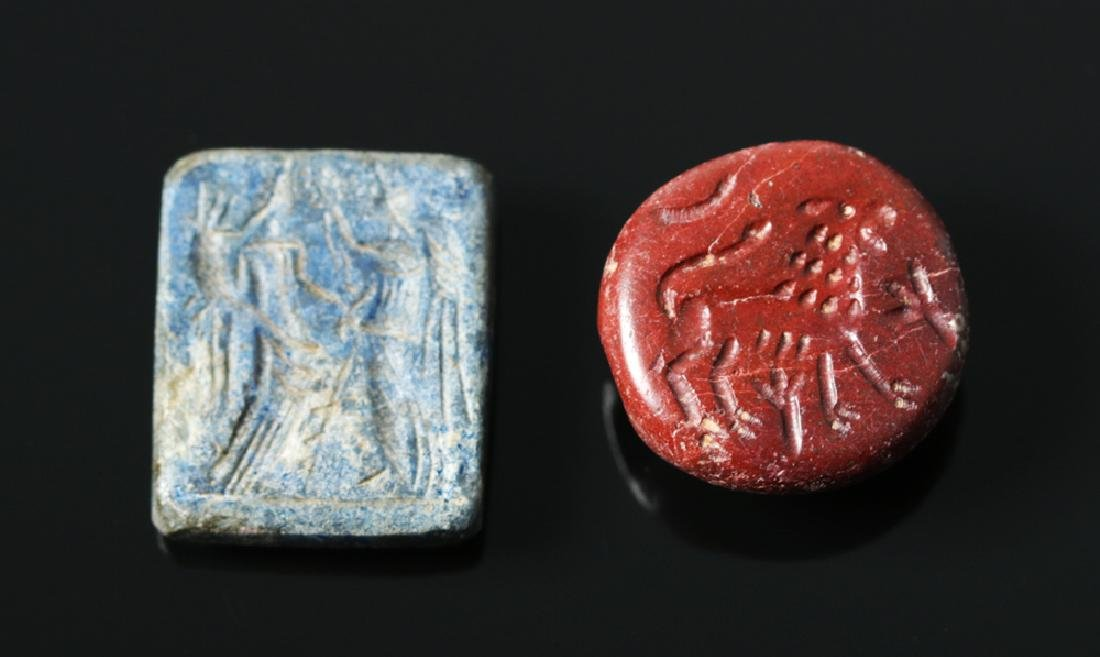 Pair of Attractive Bactrian Stone Seals
