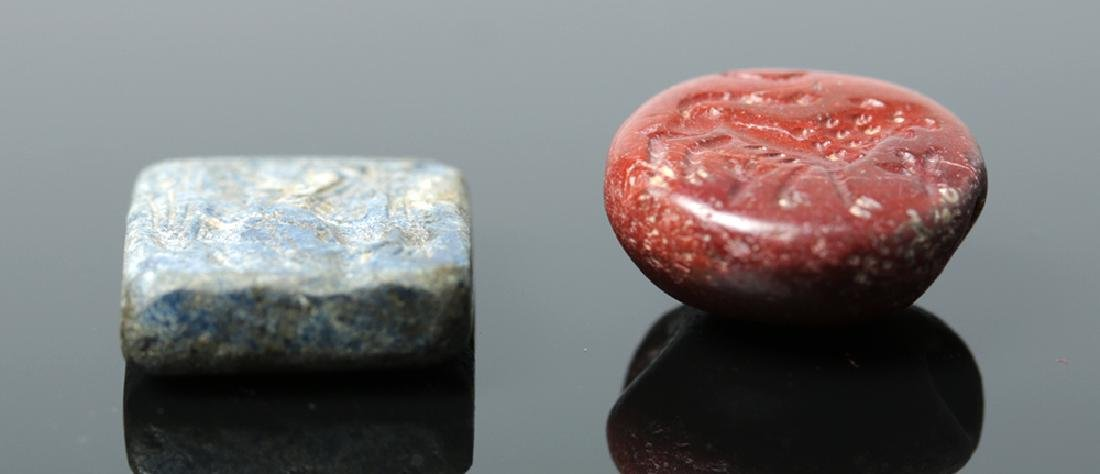 Pair of Attractive Bactrian Stone Seals - 3