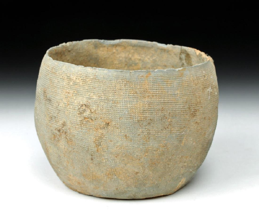 Small Chinese Warring States Greyware Cup
