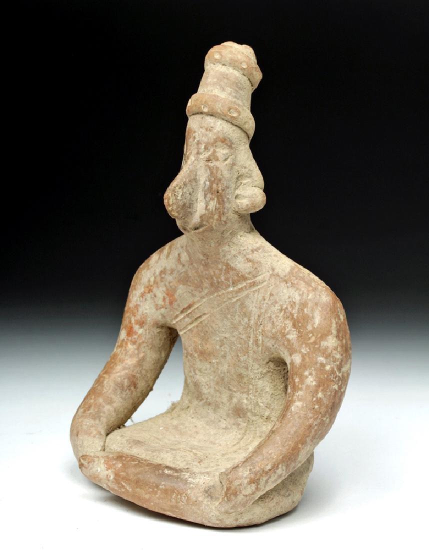 Colima Pottery Seated Figure