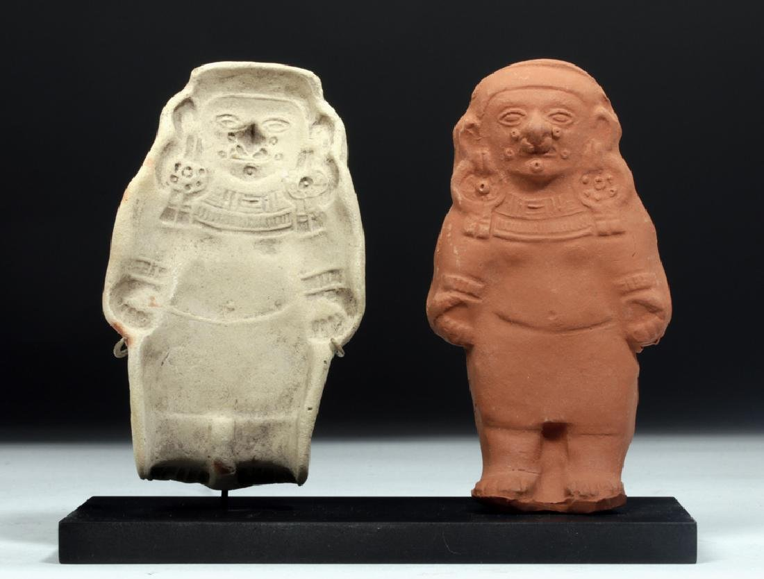 Jamacoaque Pottery Mold of Standing Figure