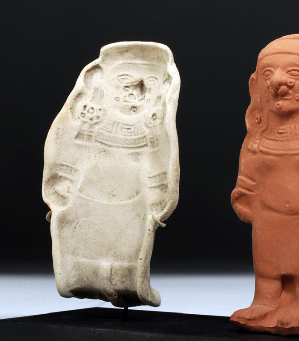 Jamacoaque Pottery Mold of Standing Figure - 2