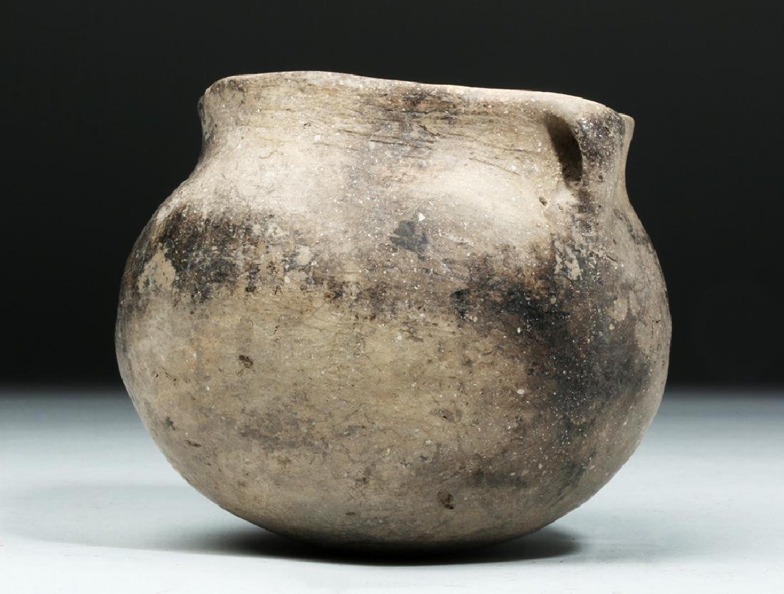 Native American Mississippian Pottery Jar - 2