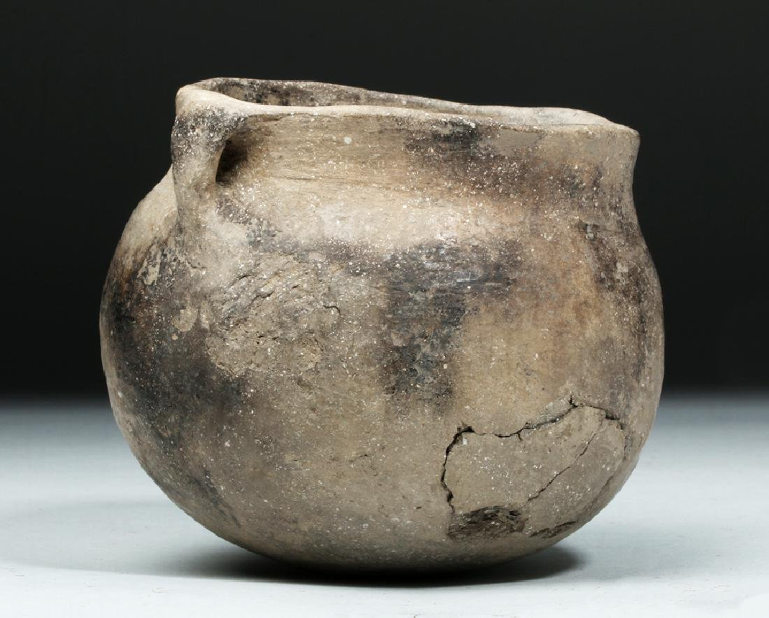 Native American Mississippian Pottery Jar - 3