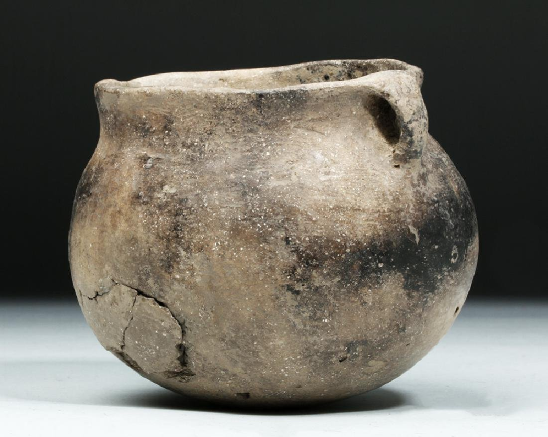Native American Mississippian Pottery Jar - 4