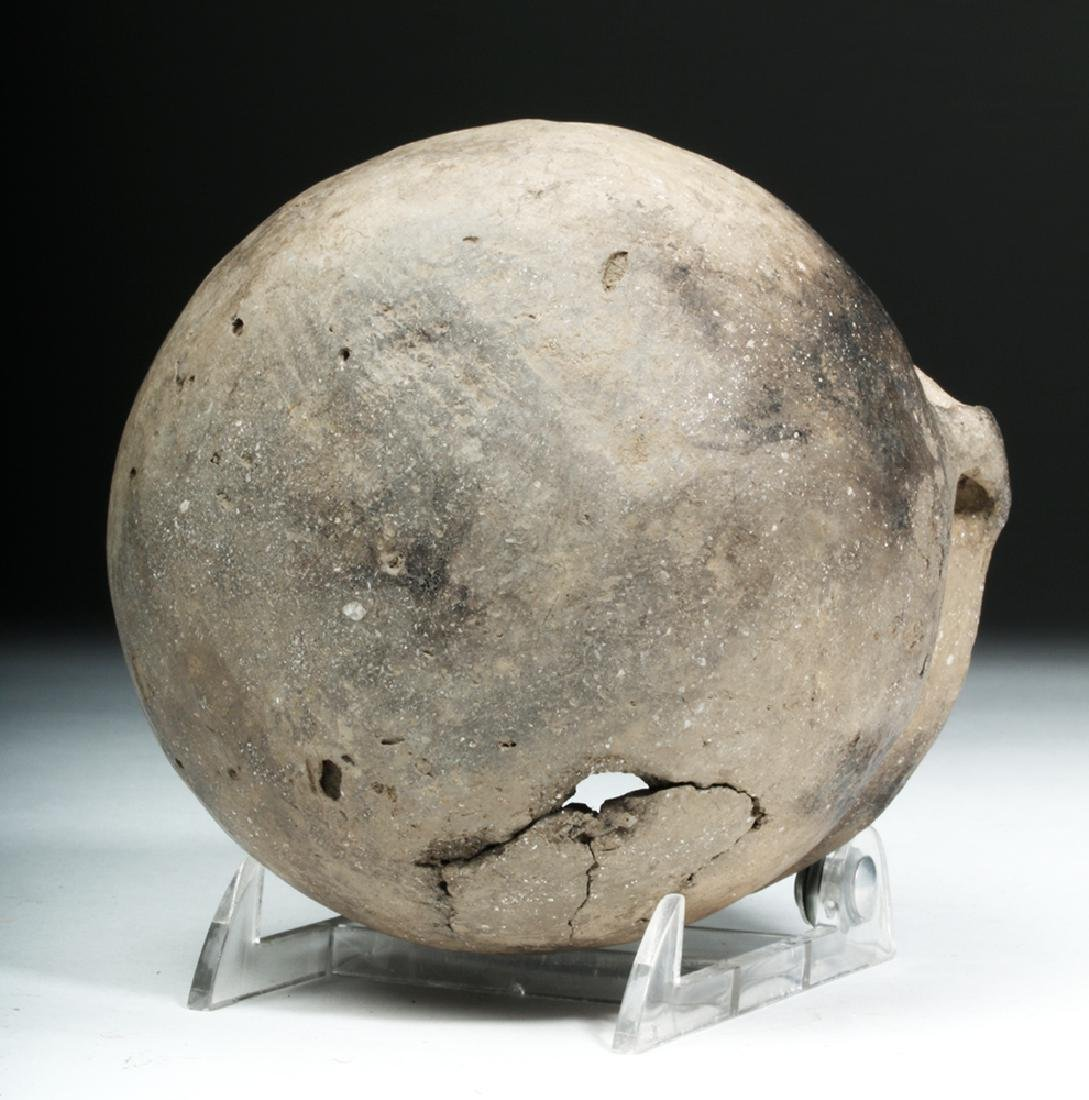 Native American Mississippian Pottery Jar - 7
