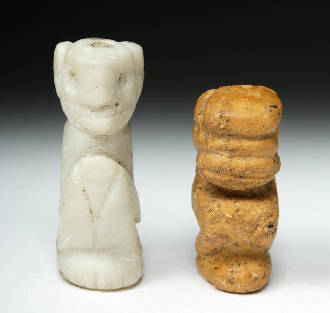 Rare Pair of Taino Stone Amulets - Ex-Peter Arnovick - 2