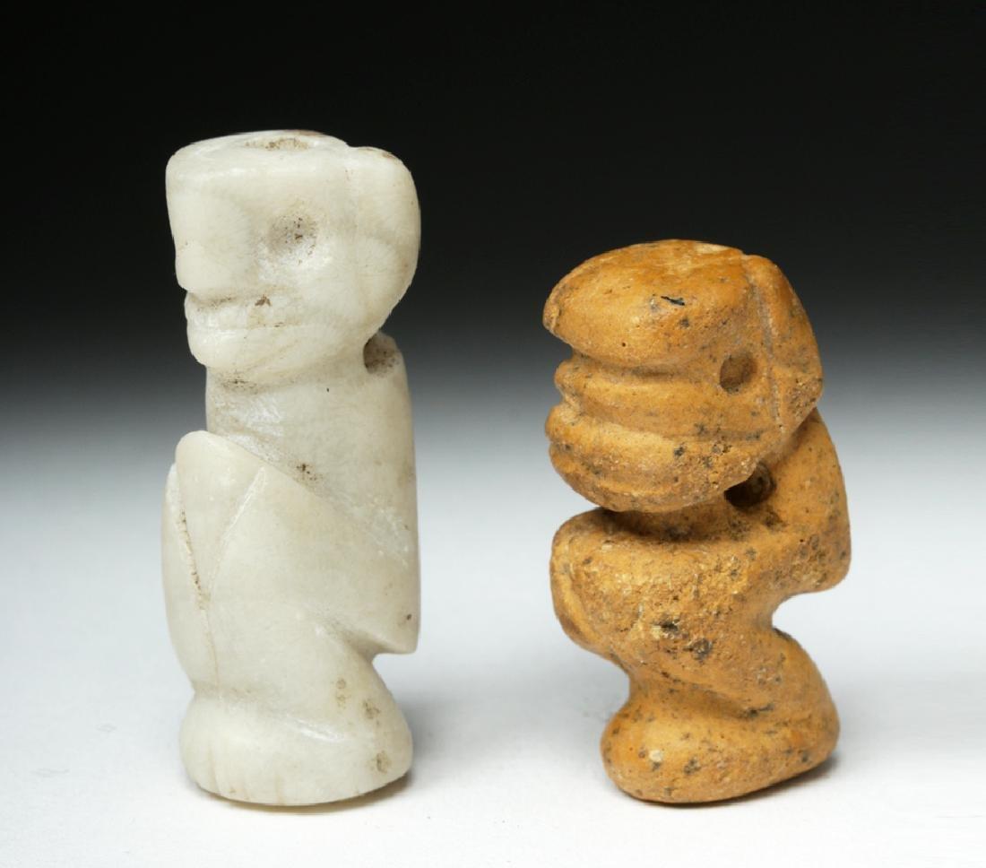Rare Pair of Taino Stone Amulets - Ex-Peter Arnovick - 3