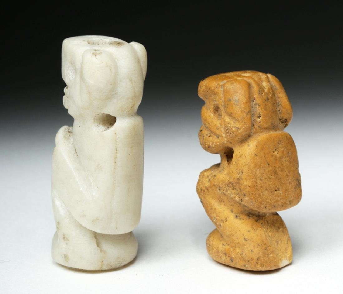 Rare Pair of Taino Stone Amulets - Ex-Peter Arnovick - 4
