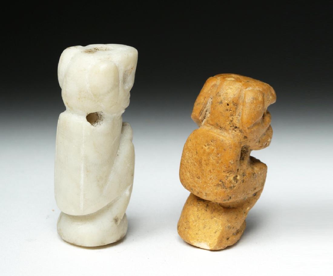 Rare Pair of Taino Stone Amulets - Ex-Peter Arnovick - 5