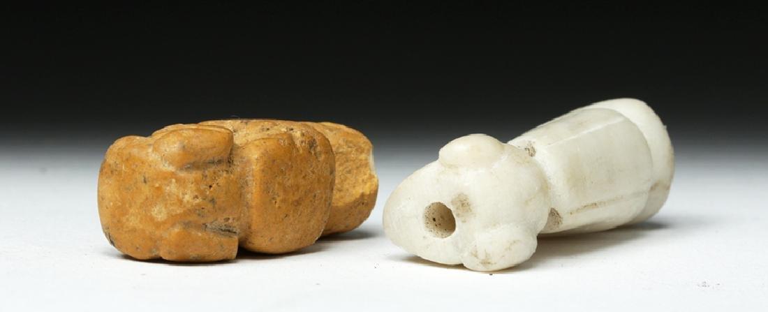 Rare Pair of Taino Stone Amulets - Ex-Peter Arnovick - 7
