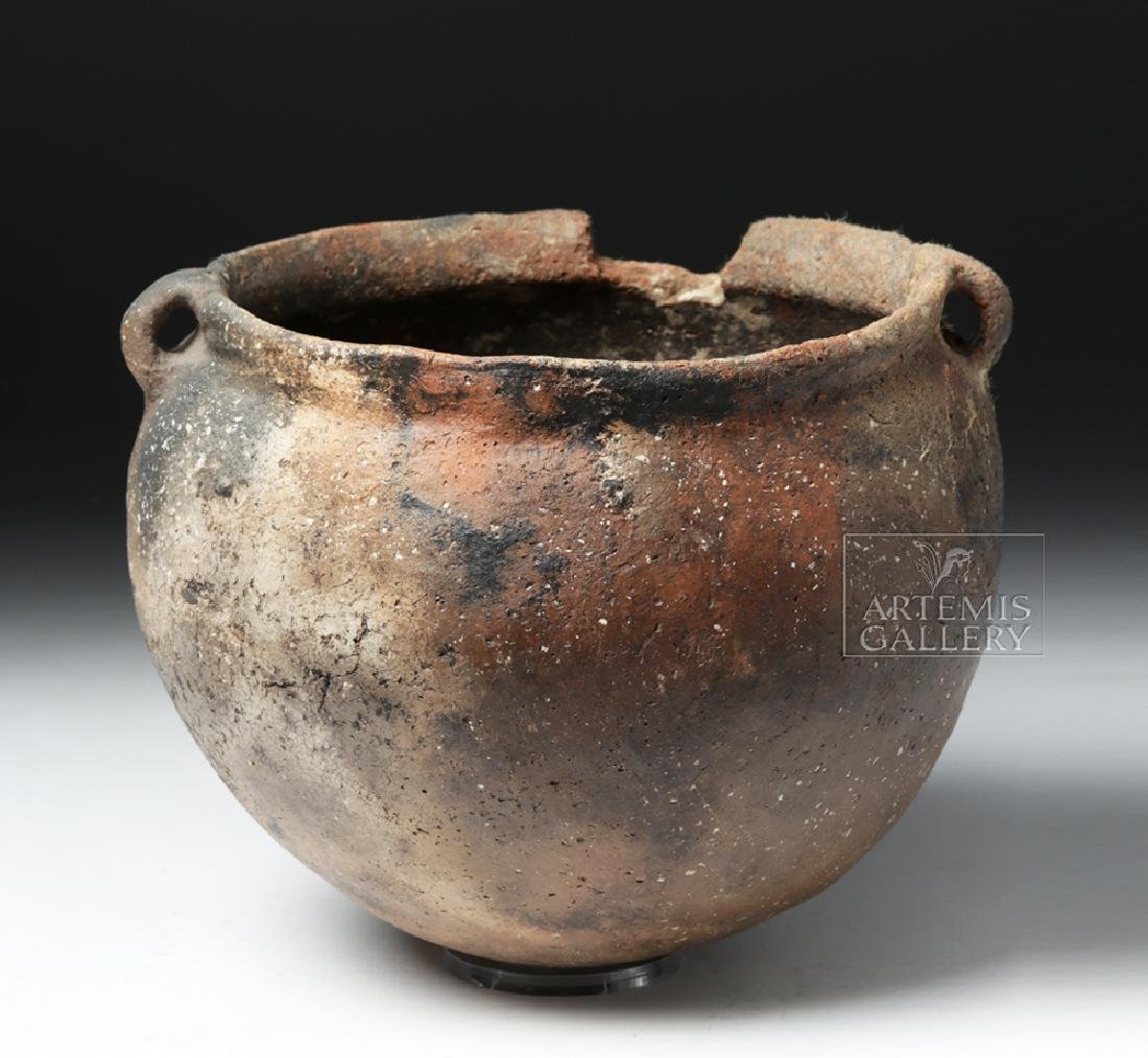 Mississippian Pottery Burial Urn for Infant - 3