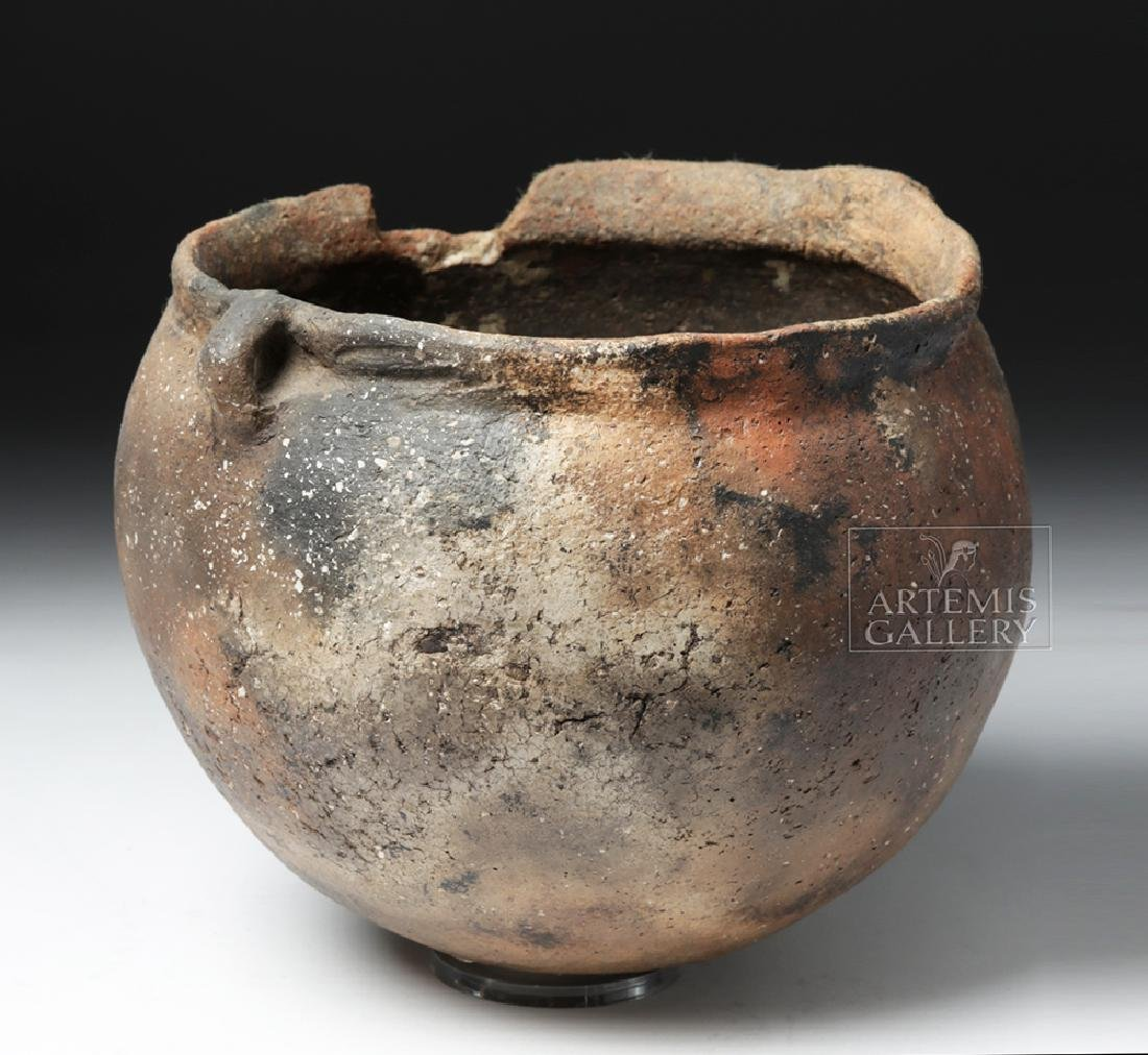 Mississippian Pottery Burial Urn for Infant - 5