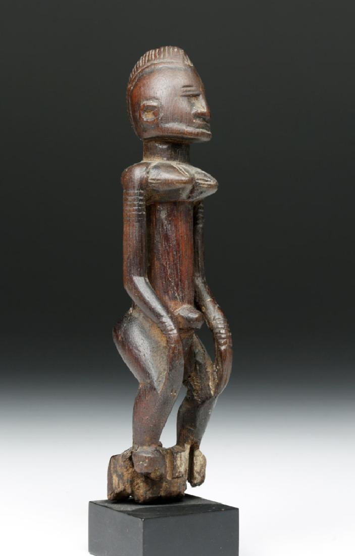 Early 20th C. Malinke / Bamana Wood Standing Woman
