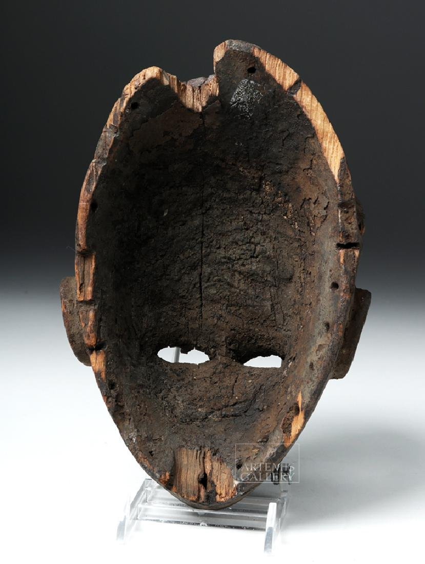 Early 20th C. Nigeria Ogoni Wood Face Mask - 4