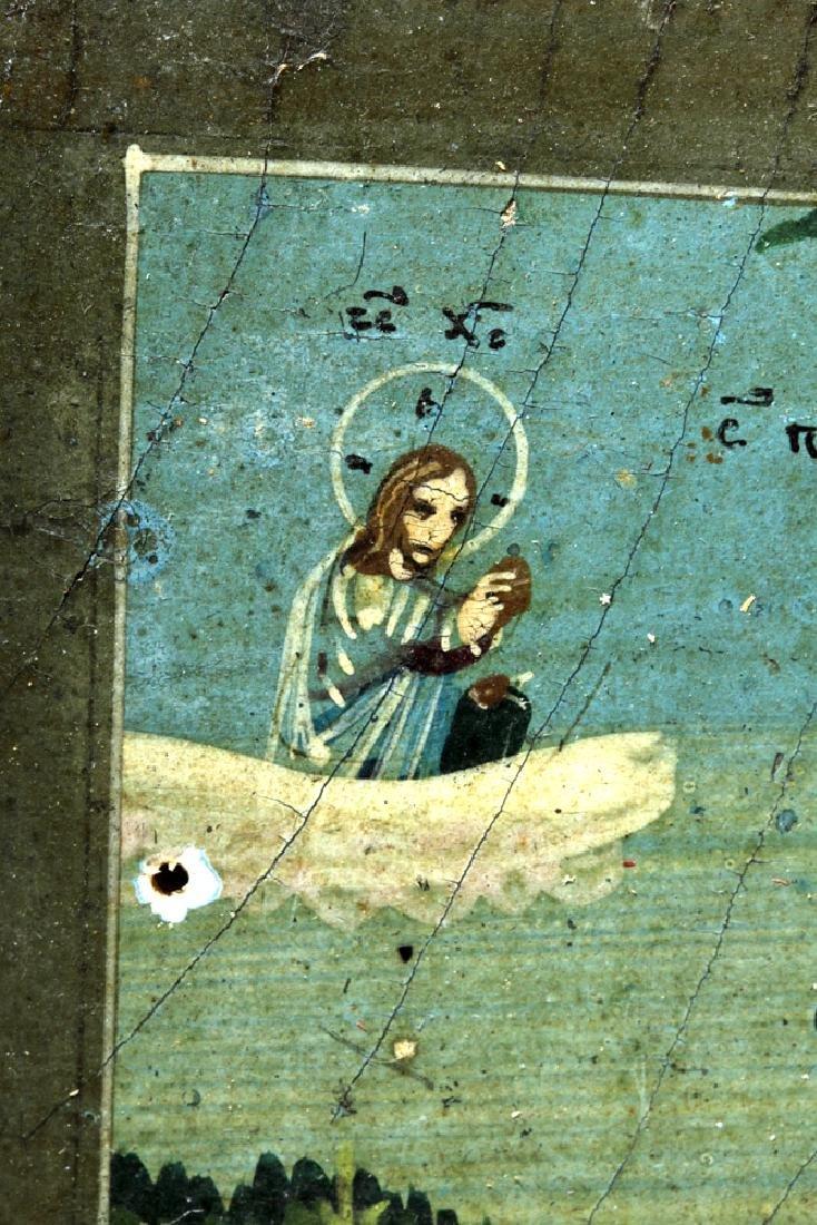 19th C. Russian Icon of Simeon Verkhoturskii - 3