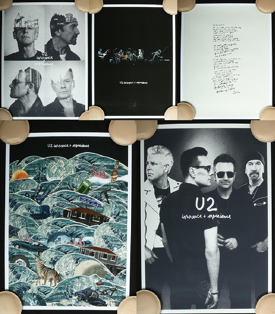 U2 Innocence & Experience Tour Serigraph Collection (5)
