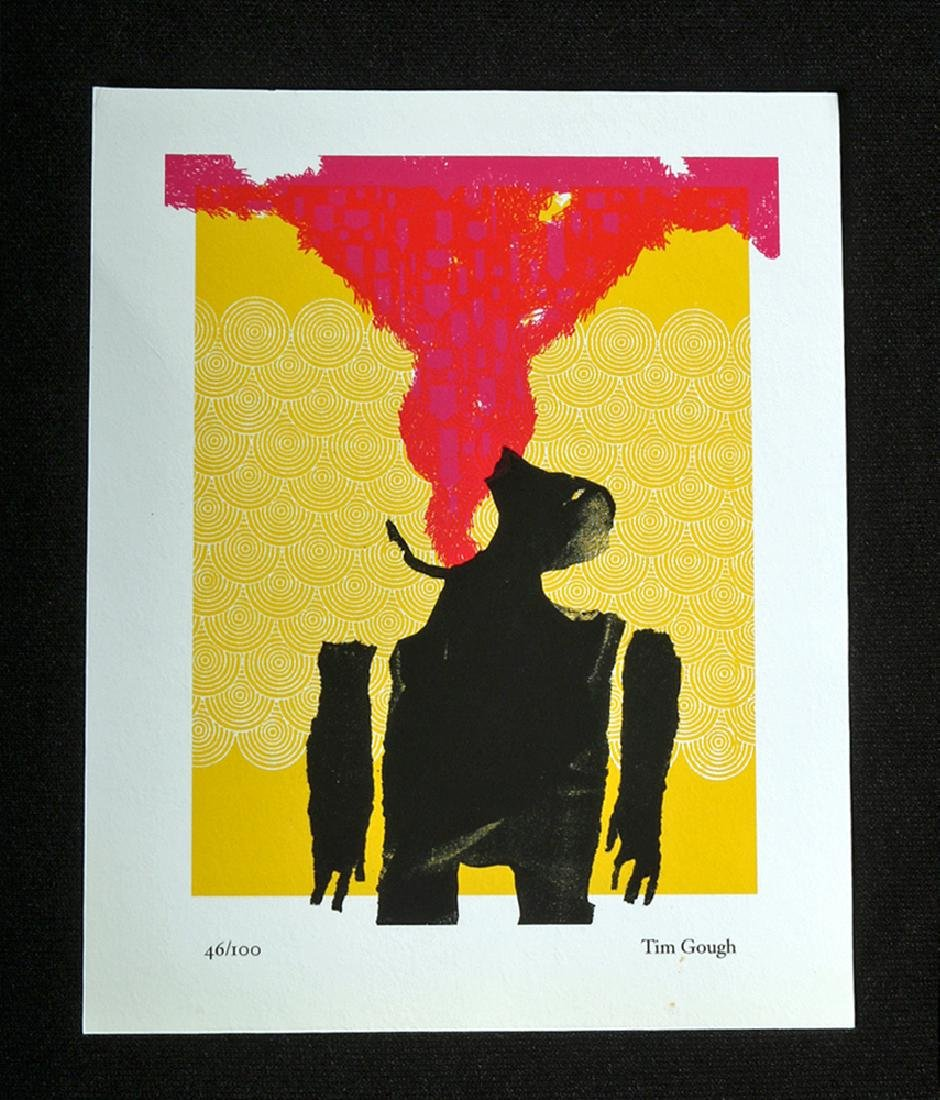 "Contemporary Print by Tim Gough - ""The Fire Breather"""