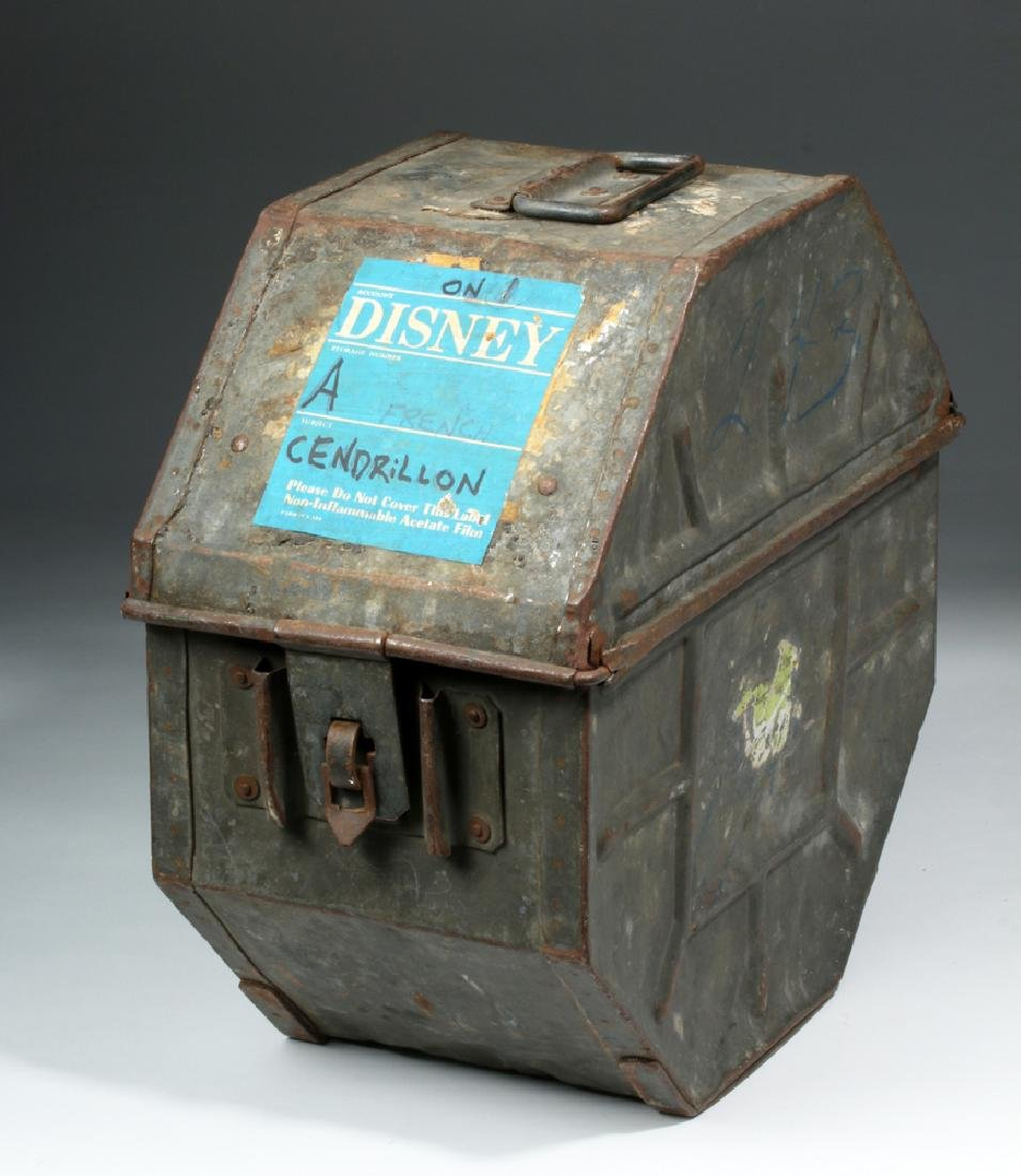French Film Canister - Disney / Buena Vista Cinderella
