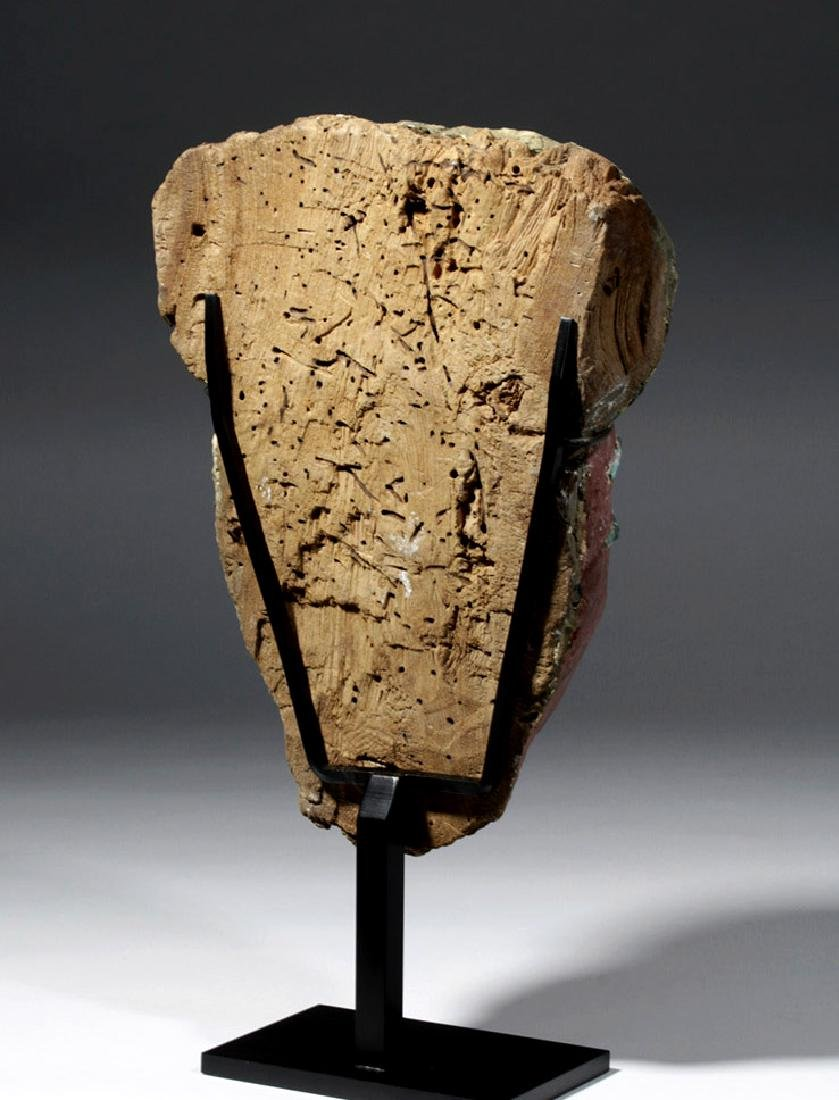 Superb Egyptian Sarcophagus Mask w/ Radiocarbon Date - 3