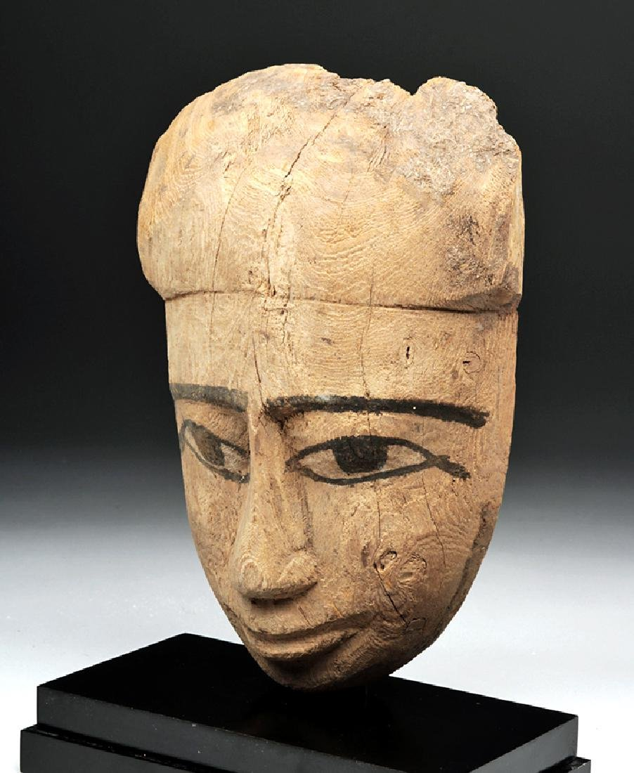 Egyptian Sarcophagus Mask - 2600+ years old - 2
