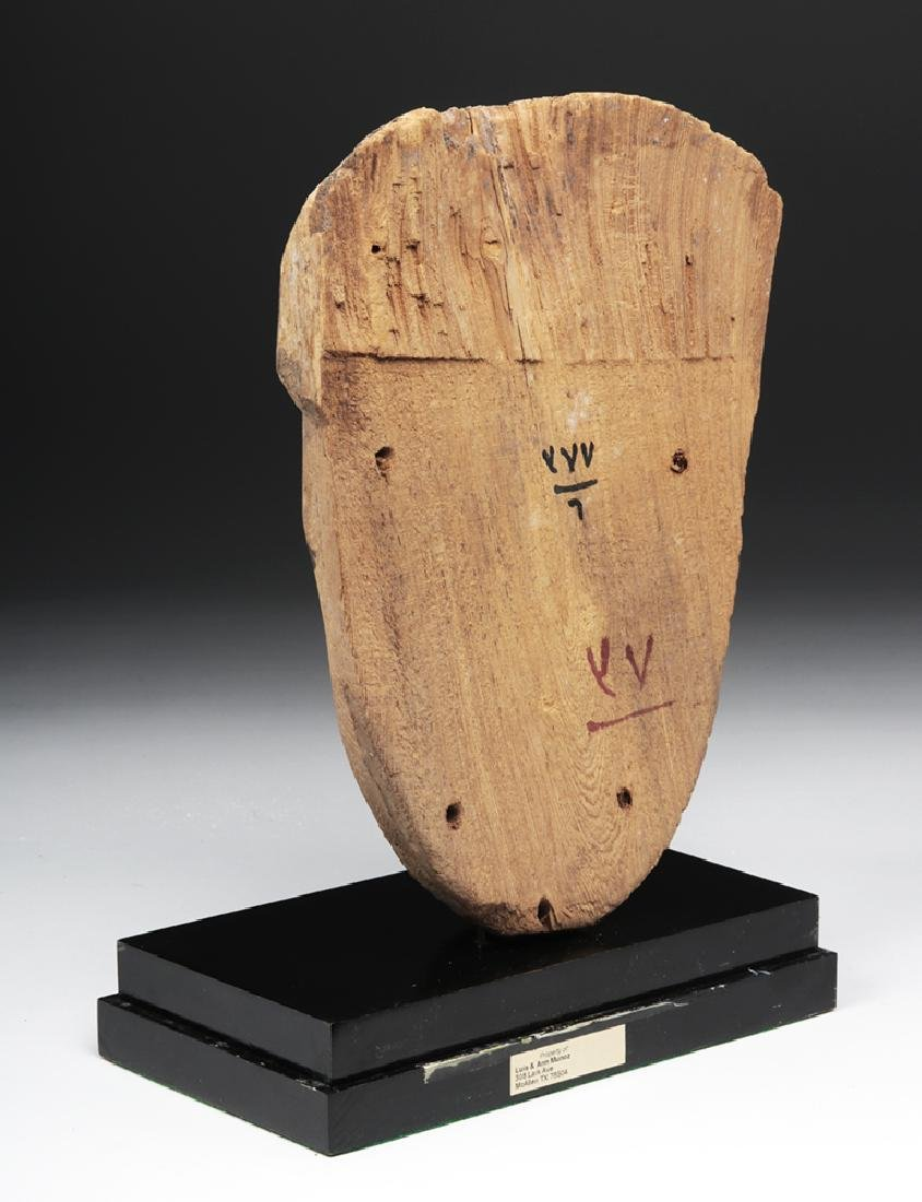 Egyptian Sarcophagus Mask - 2600+ years old - 3