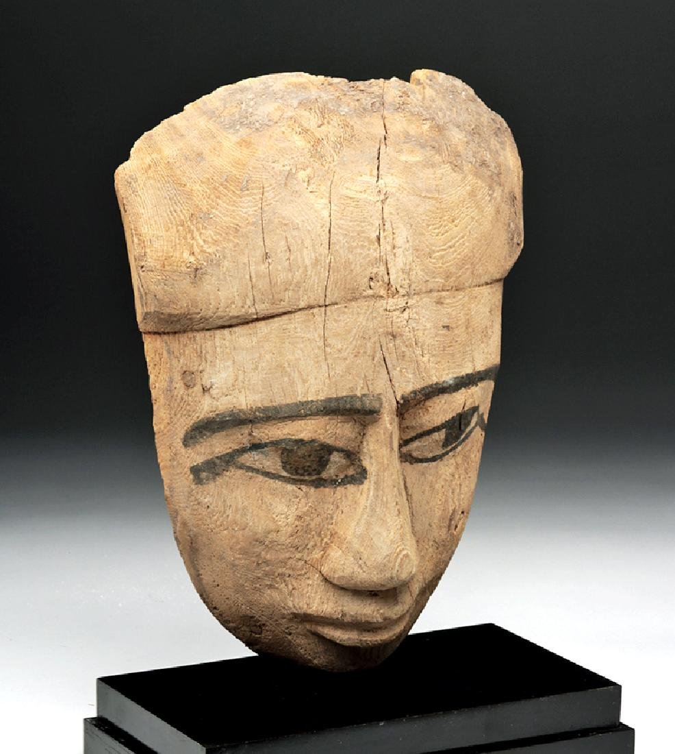 Egyptian Sarcophagus Mask - 2600+ years old - 5