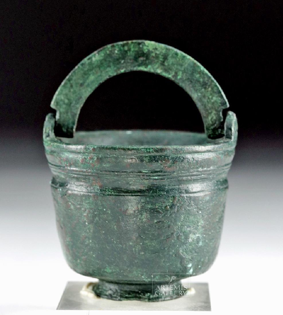 Very Fine Roman Bronze Inkwell