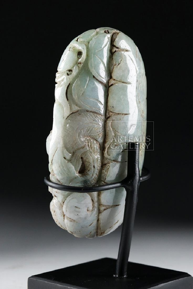 Chinese Qing Dynasty Jade Carving - Rat, Dragon, Cat - 6