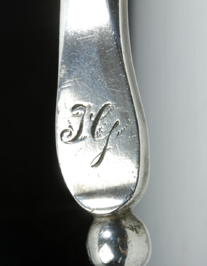 Early 20th C. American Silver Ladle - Stamped Huber - 6