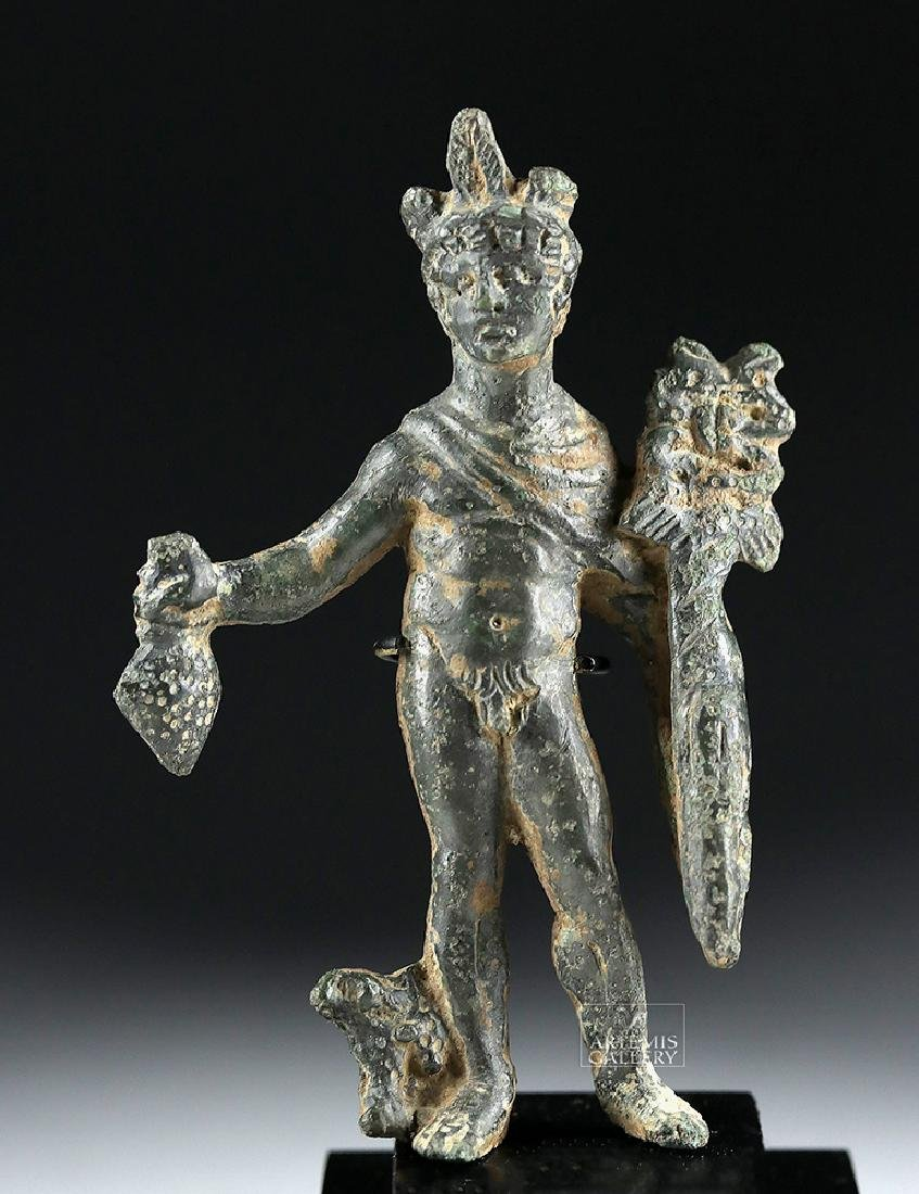Roman Bronze Statue of Mercury - Hermes
