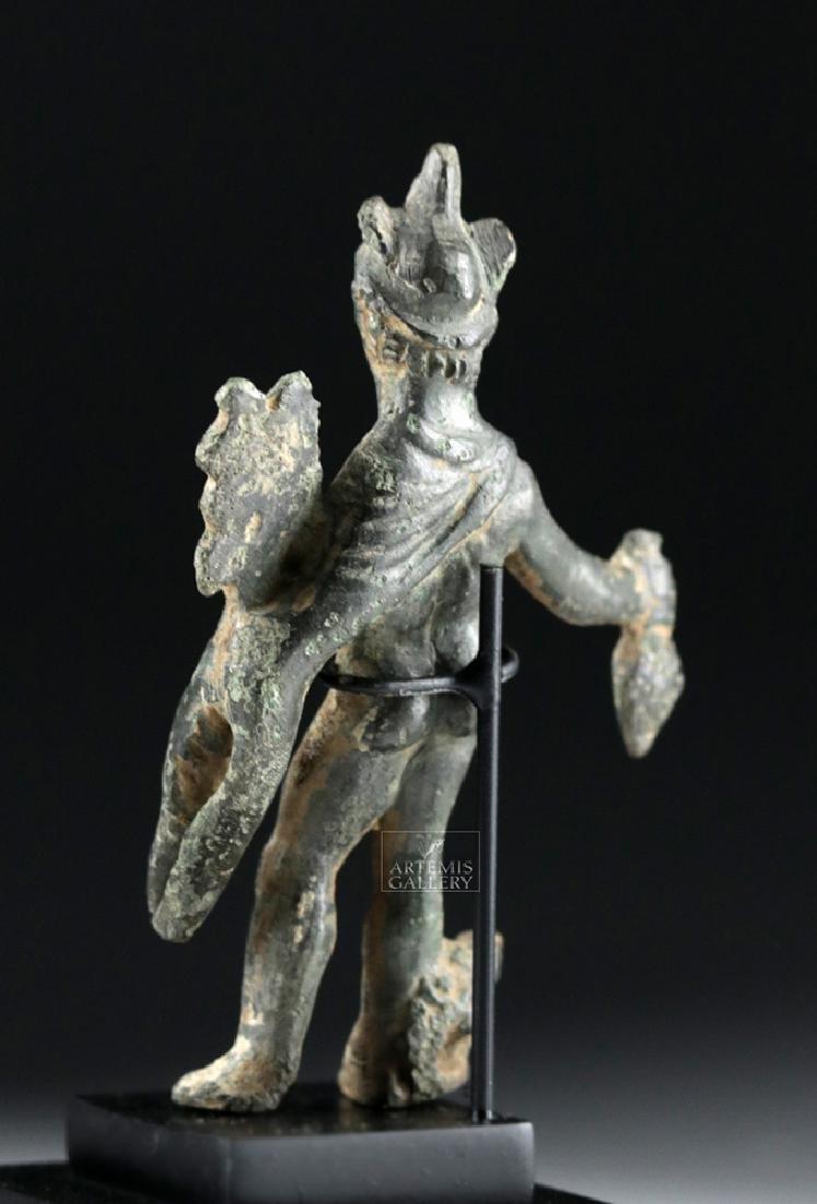Roman Bronze Statue of Mercury - Hermes - 3