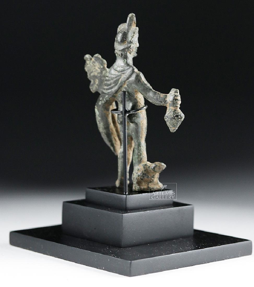 Roman Bronze Statue of Mercury - Hermes - 4