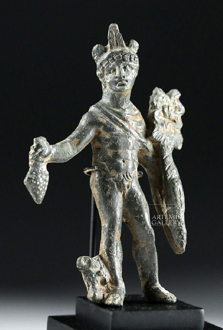 Roman Bronze Statue of Mercury - Hermes - 5