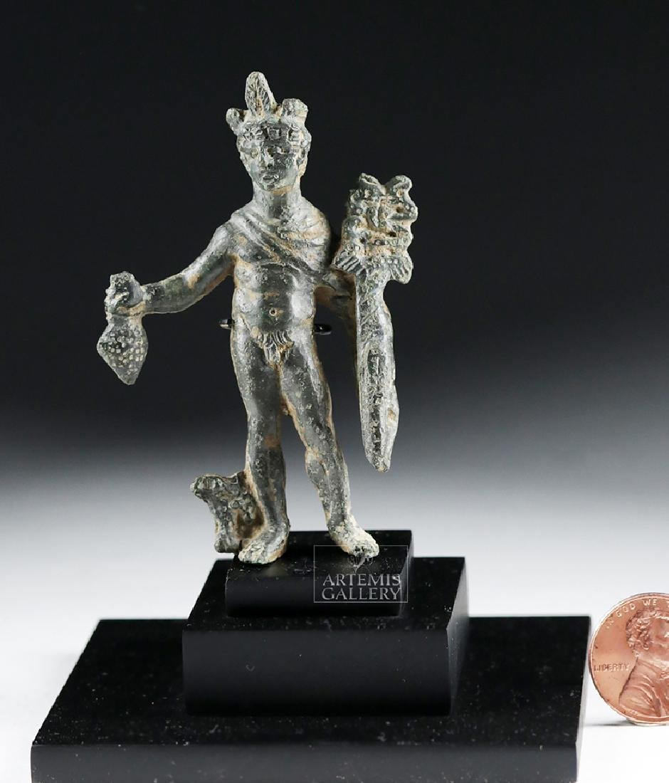 Roman Bronze Statue of Mercury - Hermes - 6