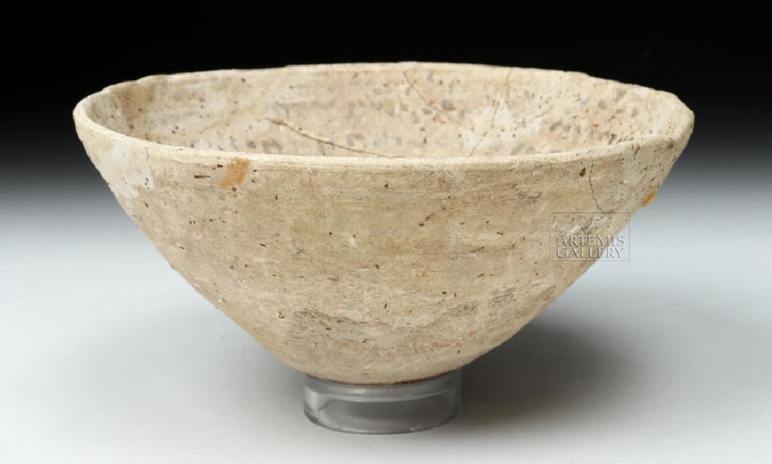 Ancient Aramaic Pottery Devil Trap Bowl - 3