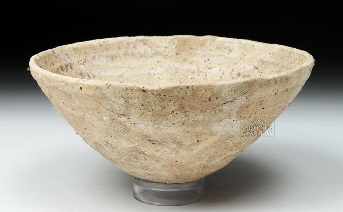 Ancient Aramaic Pottery Devil Trap Bowl - 4