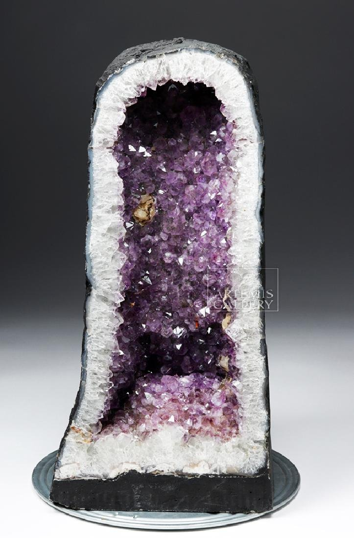 Large Brazilian Amethyst Cathedral Geode
