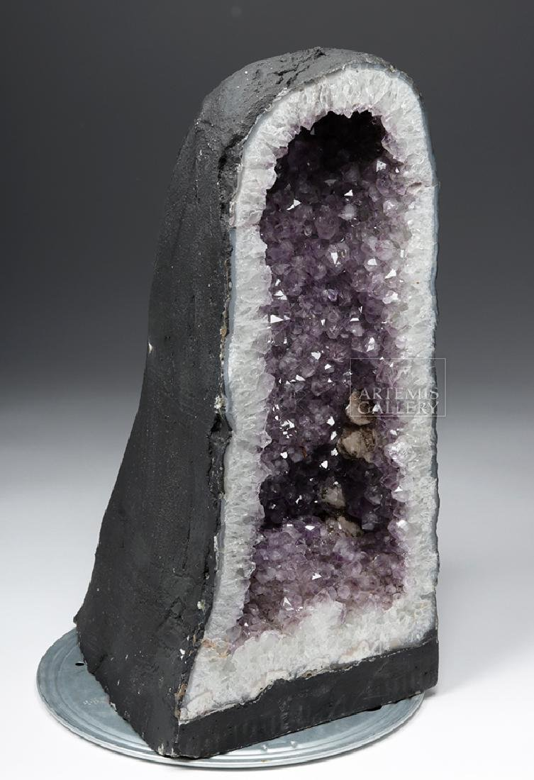 Large Brazilian Amethyst Cathedral Geode - 3