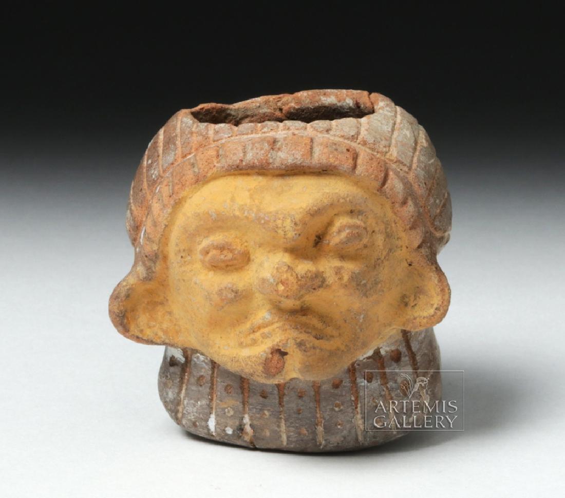 Miniature Chorrera Warrior Pipe - Drug Paraphernalia - 2