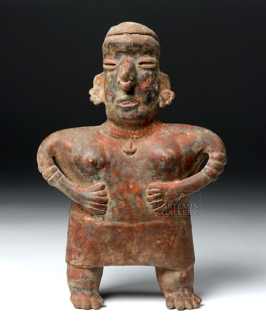 Nayarit Bichrome Pottery Standling Female