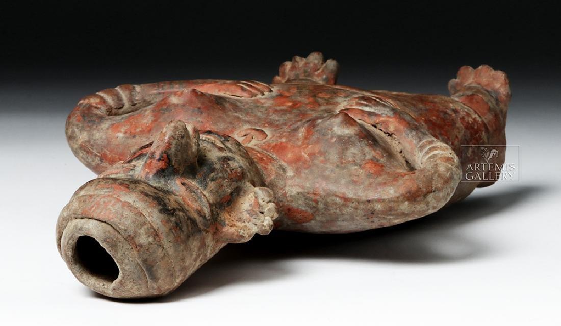 Nayarit Bichrome Pottery Standling Female - 7